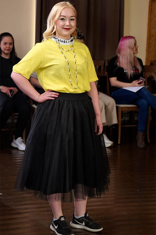 Ivana Helsinki Mmiisas t-shirt, tyllihame Lace & Rose