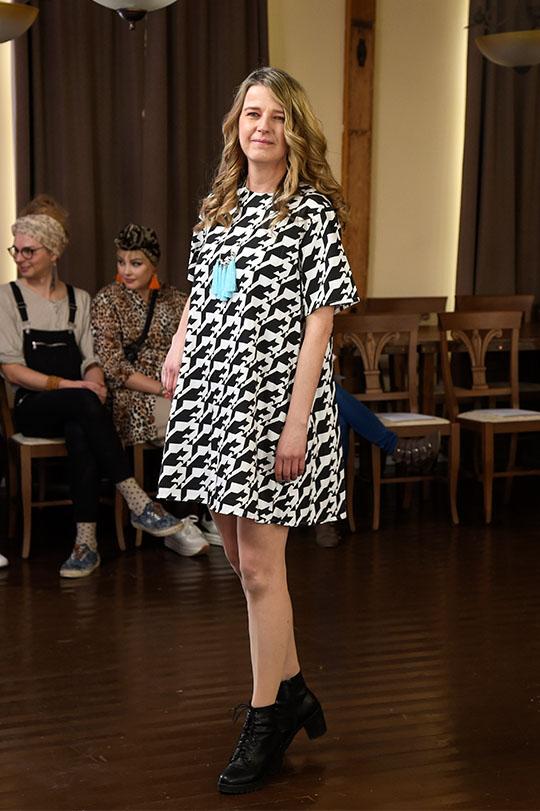 Ivana Helsinki Suzie dress Houdstooth mekko