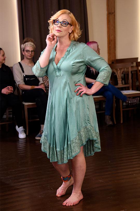 Ilo By Dakini Ibiza mekko vihreä