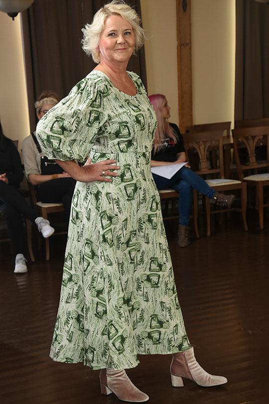 Ivana Helsinki Laura mekko vihreä