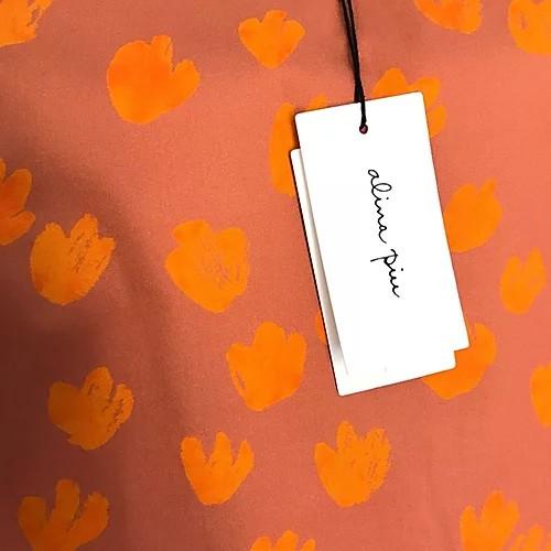 Alina Piu, Didi shirt Bouquent Print Orange