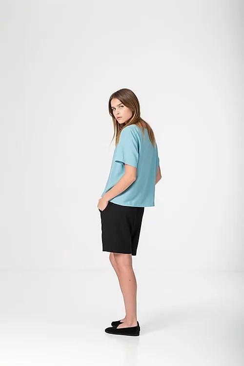 Alina Piu, Didi shirt Blue Haze