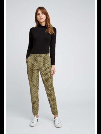 People Tree Cosmic Print Trousers