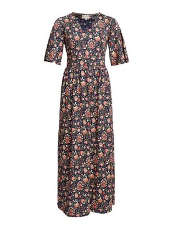 People Tree Yasmin print dress V&A