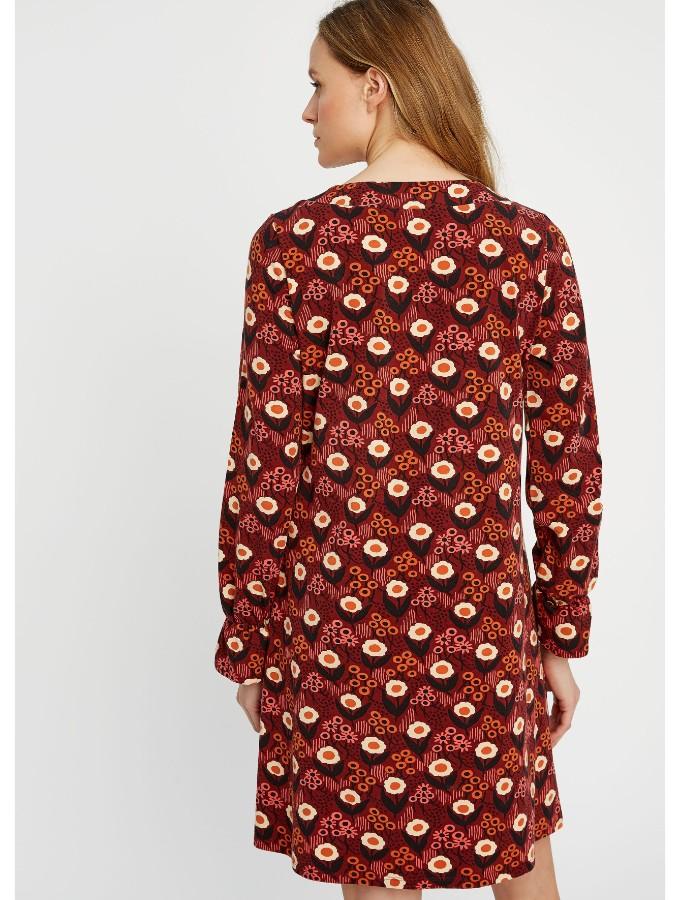 Daisy short Print dress takaa