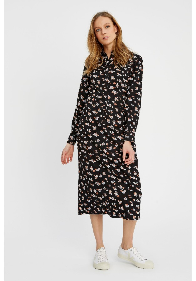 People Tree Piper Floral print dress