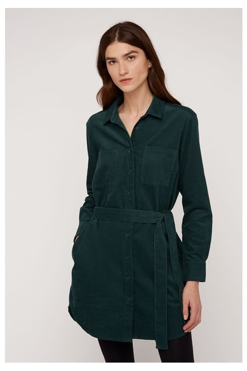 People Tree franca-corduroy-shirt-dress-in-green--e0259bb65f38