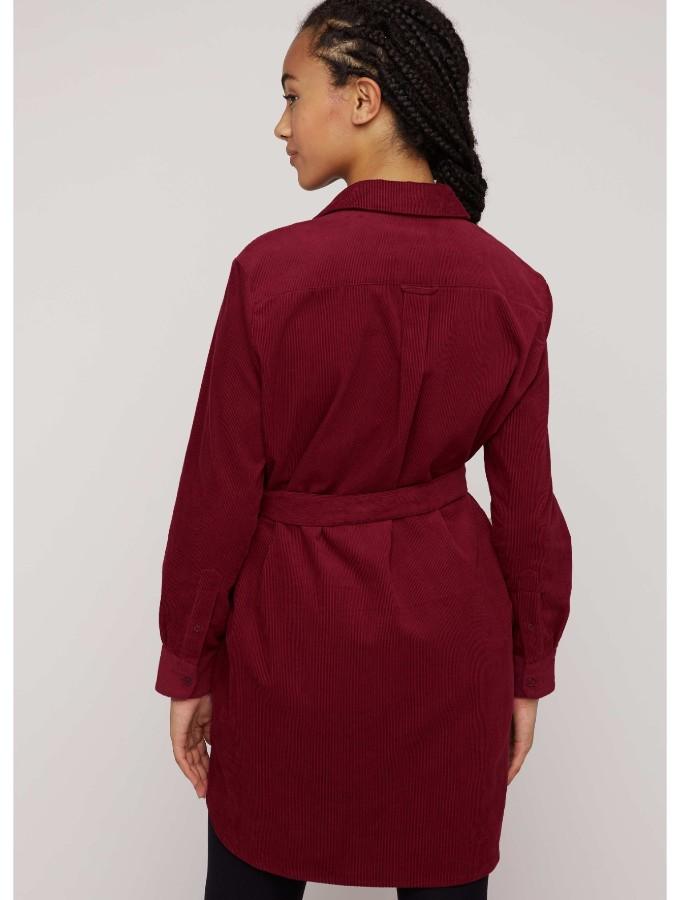 People Tree_franca-corduroy-shirt-dress-in-red-