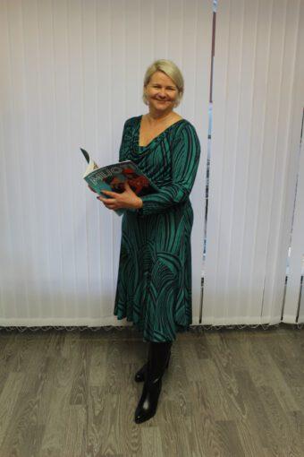 Sharon max-mekko vihreä