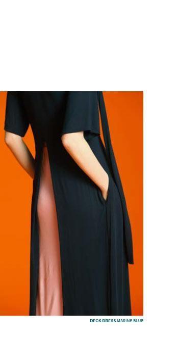 Tauko Deck maxi dress marine 1