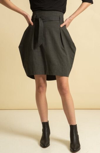 Tauko, radalla-skirt-grey-