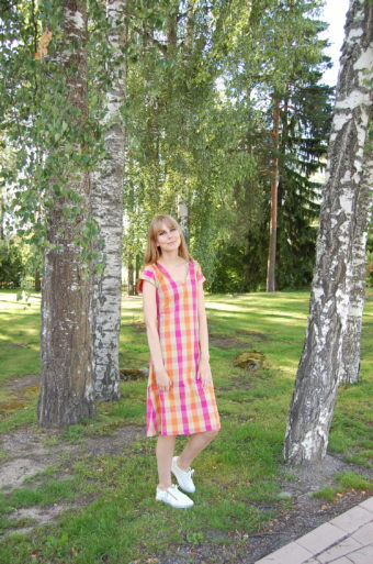 People Tree Alessanda Check Dress