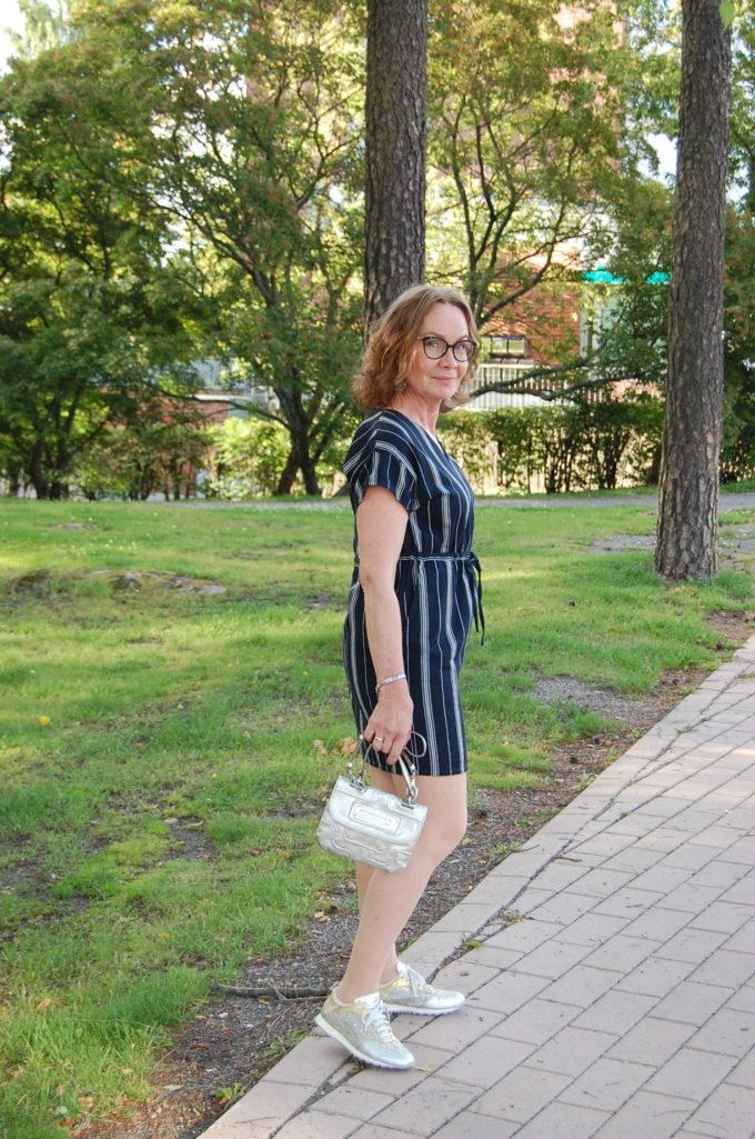 People Tree Tess Stripe dress