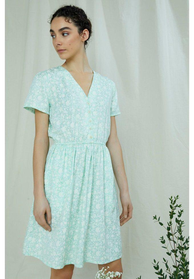 People Tree, Laura Floral Dress, XL