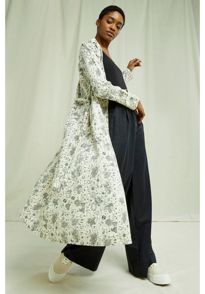 People Tree, V&A Anaya Shirt Dress,XL