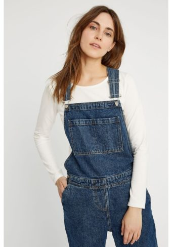 People Tree, Brooklyn Denim Dungarees, XL