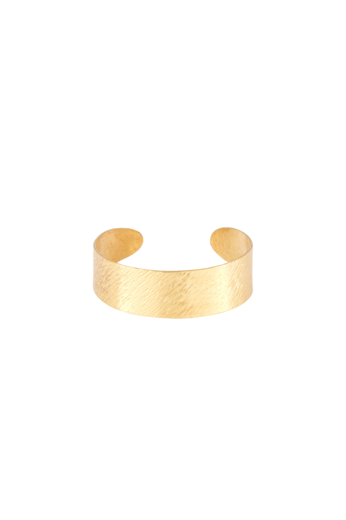 people-tree-brushed-cuff-brass-one-size