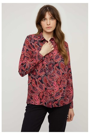 People Tree Carla paisley shirt, M
