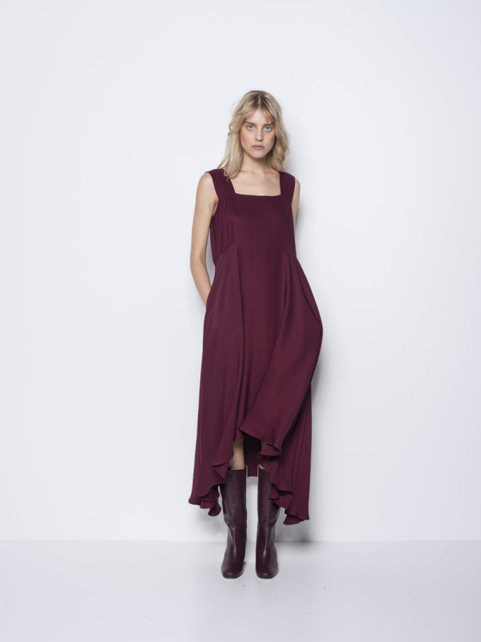 Ionna Kourbela, Maxi dress, black