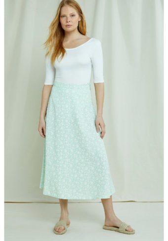 People Tree, Alison Floral skirt (1)