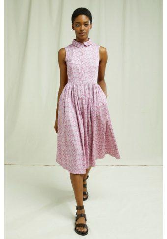 People Tree, Trisha Leaf Print Dress (2)